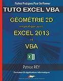 Gometrie 2D en Pratique avec Excel 2013 et Vba