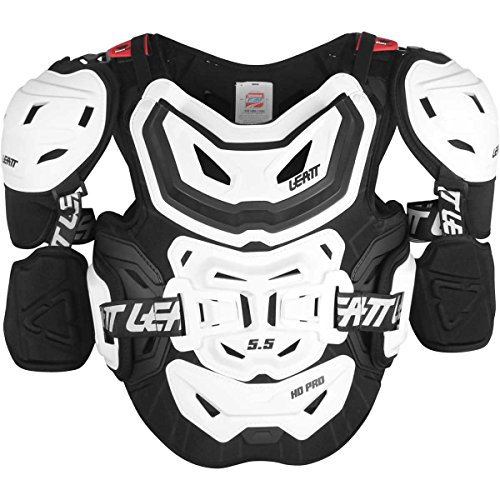 Leatt 5.5 Pro HD Chest Protector-White-Adult from Leatt