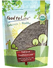 Organic Chia Seeds Flour, 1 Pound - Non-GMO Meal, Kosher, Raw Chia Powder, Vegan Ground Seeds, Cold Milled Meal, Bulk
