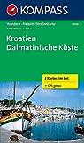 Kroatien - Dalmatinische Küste: Wanderkarten-Set. GPS-genau. 1:100000 (KOMPASS-Wanderkarten, Band 2900)