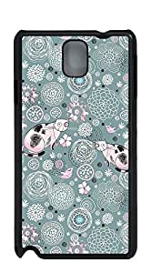 TUTU158600 Back Cover Case Personalized Customized Diy Gifts In A case for samsung galaxy note3 for men - Pink background