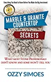 Countertop Fabricators Marble & Granite Countertop Secrets: What Most Stone Professionals Don't Know and Some Won't Tell You