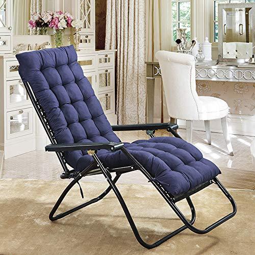 - Scorpiuse Sun Lounger Cushion 67-inch Lounge Chaise Cushion Sun Lounger Mattress with Non-Slip Back Elastic Sleeve for Garden Outdoor/Indoor/Sofa/Tatami/Car Seat/Bench(67 x 21 x 3 inch, Blue)