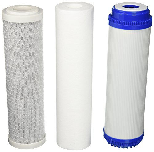- Purenex 5 Stage Reverse Osmosis Filter Replacement Set, gac, carbon and sediment