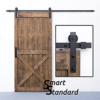 Amazon Usa Made 8 Ft Sliding Wood Barn Door Hardware Kit