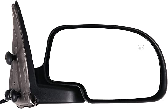 ECCPP Door Mirrors Driver Left Passenger Right for 1999-2002 Chevrolet Silverado Suburban Tahoe GMC Sierra Yukon Yukon XL Chrome Power Adjusted Heated Manual Folding Pair Mirrors