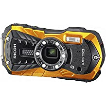 RICOH WG-50 Orange waterproof 14m withstand shock 1.6m cold -10 ° RICOH WG-50 OR 04581(Japan Import-No Warranty)