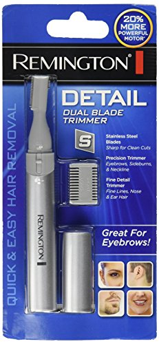 Remington Dual Blade Detail Trimmer Eyebrows Nose Ear Sideburns MPT-3400C