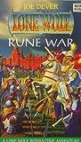 Rune War (Lone Wolf - New Order Series) by Joe Dever (1995-08-01)