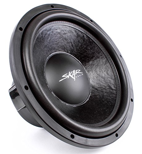 Skar Audio DDX-15 D4 Dual 4 Ω 1,500W Max Power Car Subwoofer