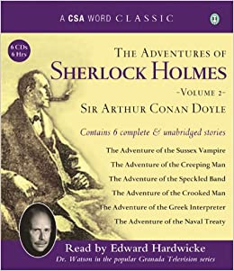 ``NEW`` The Adventures Of Sherlock Holmes, Volume 2 (A CSA Word Classic). Series metodo without seamless espanol valor