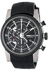 Momo Design Men's MD280TT-01BKBK Composito Analog Display Swiss Automatic Black Watch