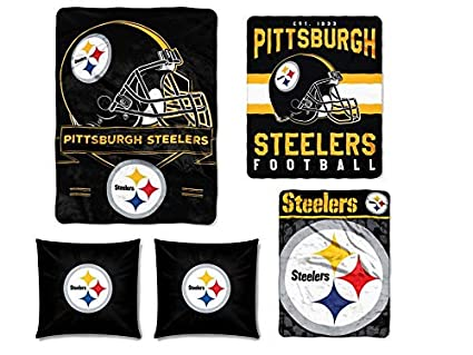 Amazon The Northwest Company NFL Pittsburgh Steelers 40pc Gorgeous Nfl Blankets And Throws