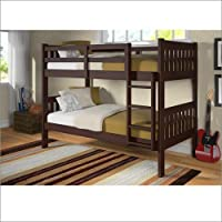 F/F Bunk Bed Dark Cappuccino