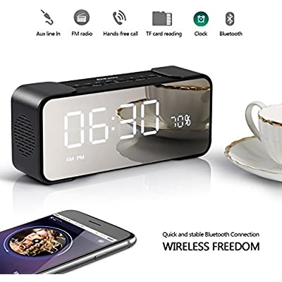 2018-newest-alarm-colck-radio-with