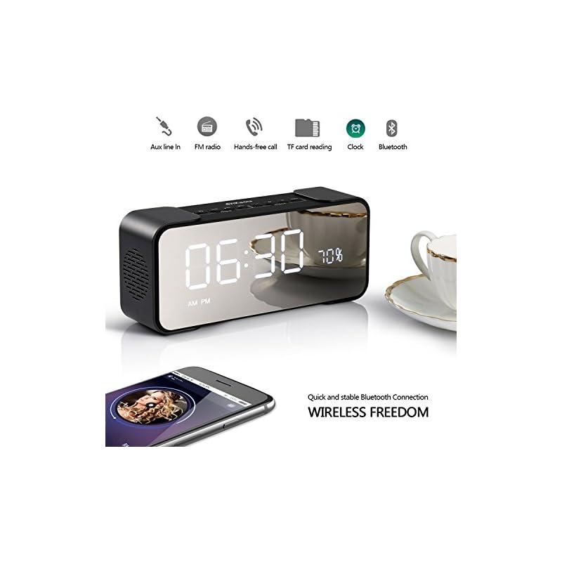 2018 Newest Alarm Colck Radio with 10W W