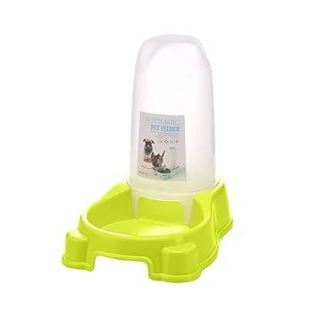 UEETEK Pet Alimentador automático de agua, perro gato alimentador de animales dispensador de la estación