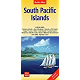South Pacific Islands nel.map Salomon-N.Cal-Vanuatu-Fiji