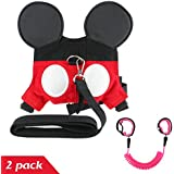 2 Pack Baby Child Anti Lost Wrist Leash Safety Harness...