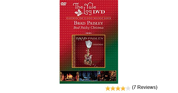 Amazon.com: Brad Paisley Christmas: The Yule Log: Brad Paisley ...