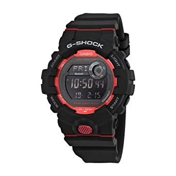 G-Shock Mens GBD800-1 Bluetooth G-Squad Digital Watch, Black/