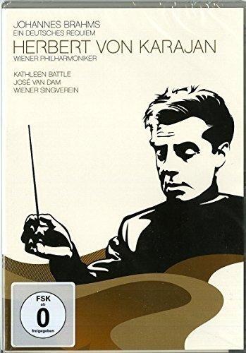 DVD : KARAJAN, HERBERT VON - Brahms: Ein Deutsches Requiem (United Kingdom - Import)