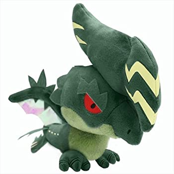 Capcom Monster Hunter X Cross Monster Plush Raizekusu/Raizex (Japan Import)