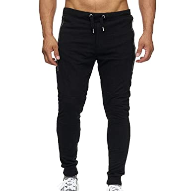 HEHEM Mens Trousers Pants Formal Business Trousers Trunks Casual Jogger Grey Pants Black Pants Work Casual