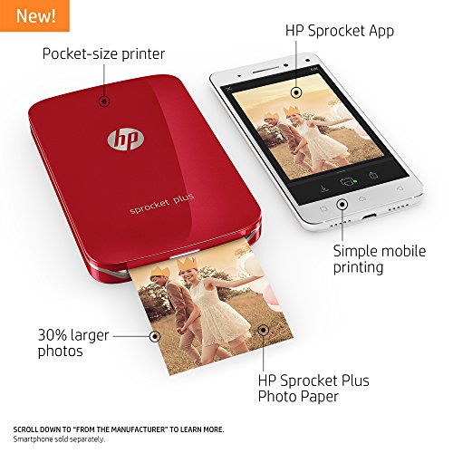 how to put paper in hp sprocket