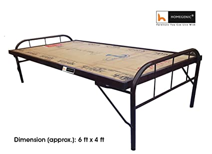 Homegenic Smart Double Size Folding Guest Bed With Plywood Top (Make ...