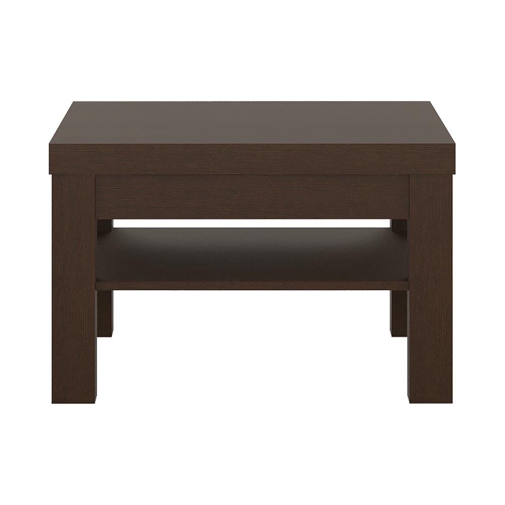 75 x 48 x 75 cm Pino te/ñido Oscuro Muebles To Go Pello o Peque o Mesa de caf/é