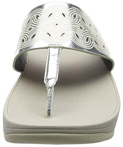 Silver para Mujer Bahia Sandalias Plateado Fitflop xwBXST0q4