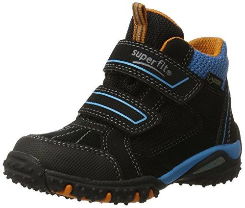 Superfit SuperfitSport4 - Zapatillas Altas Niños, Color Negro, Talla 26 EU