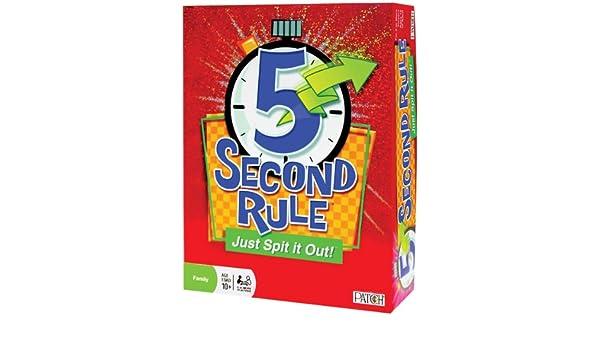 Patch Products Inc. Juego de Reglas de 5 Segundos, para niños, Juguetes, Hobbies, Bonito Regalo: Amazon.es: Juguetes y juegos