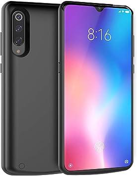 Adorehouse Xiaomi Mi 9 5000mAh Funda Batería Externa Recargable ...