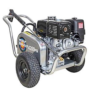 Simpson Aluminum Belt Drive ALWB60828 4200 psi at 4 GPM Honda GX270 Gas Pressure Washer