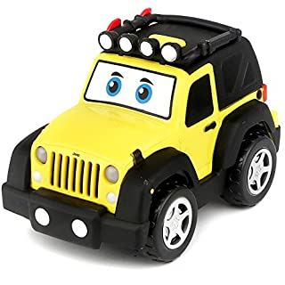 MPA, BB Junior Jeep Wrangler Light & Sound, Vehicle Toy by (16-81201)