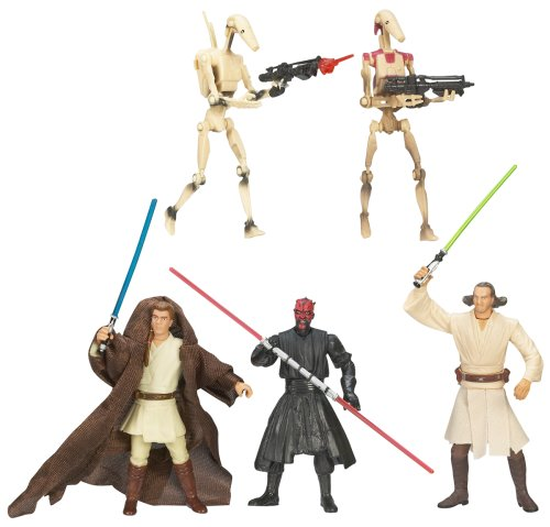Star Wars: Saga Collection Battle Packs > Sith Lord Attack Action Figure Set -