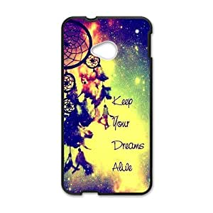Distinctive colorful dreamcatch Cell Phone Case for HTC One M7