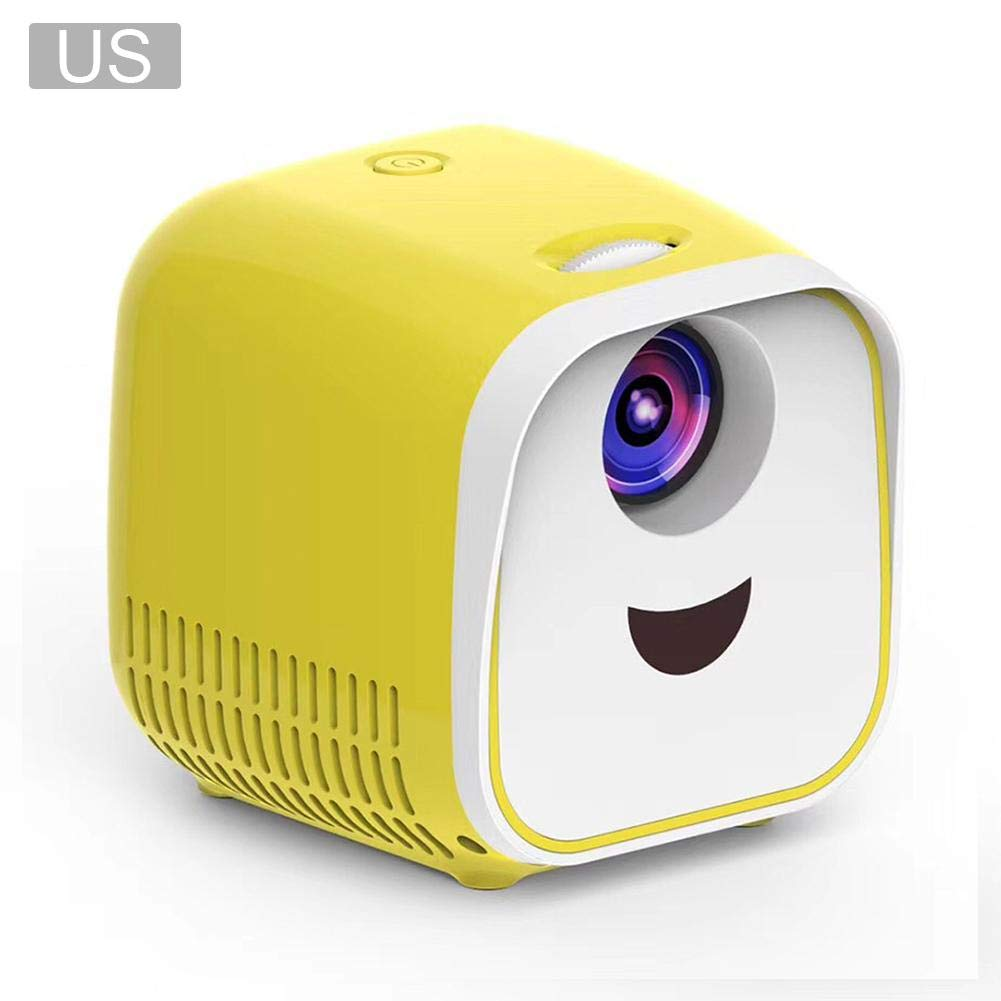 kingpo L1 Mini proyector 1080P Full HD LED Home Proyector Casual ...
