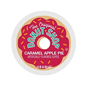 The Original Donut Shop Caramel Apple Pie Coffee Single Serve Capsules for Keurig K-Cup Pod Brewers, 24 Count