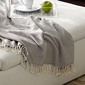 Zestt 100% Organic Cotton Throw