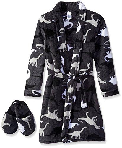 Too Cool 2 Sleep Little Boys' Dinosaur Camo Robe with Sli...