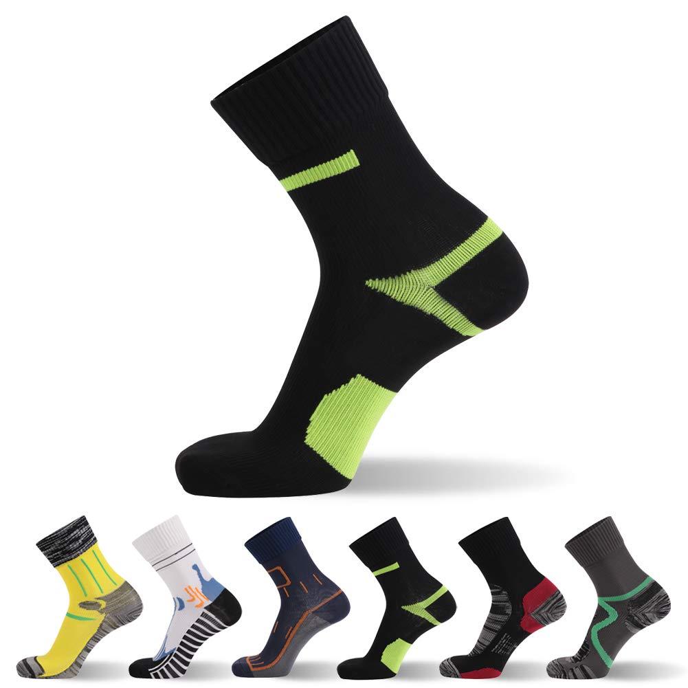 Waterproof Socks, SGS Certified RANDY SUN Unisex Cycling Mid-Calf//Ankle Sock Size XS-L