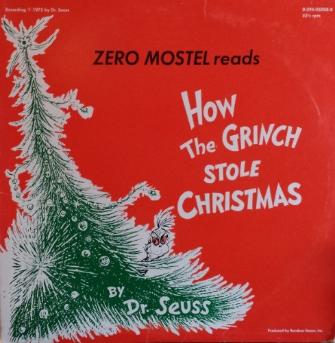 Price comparison product image 1975 How the Grinch Stole Christmas by Dr Seuss Read by Zero Mostel / Christmas Songs From Many Lands