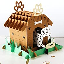 Dog' Home 3D Pop up Handmade Greeting Card for Kids