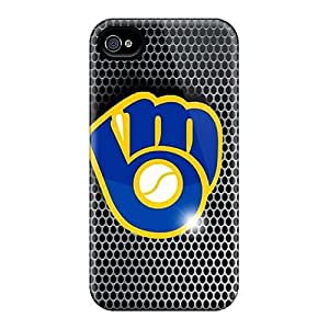 Fashionable KXLmroD2506ocQlB Iphone 4/4s Case Cover For Brewers Protective Case