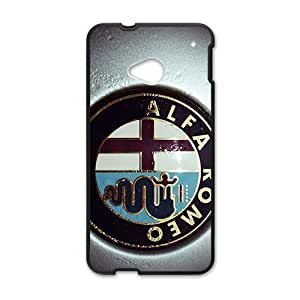 Happy Alfa Romeo sign fashion cell phone case for HTC One M7