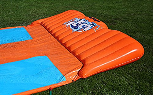 Bestway Two (2) H2O Go Triple Slider Kids Outdoor 3-Person Water Slides | 52200E by Bestway (Image #4)