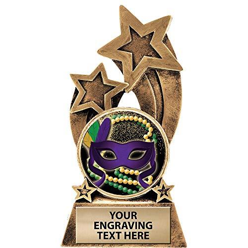 Mardi Gras Crowns (Crown Awards Mardi Gras Trophy, 6
